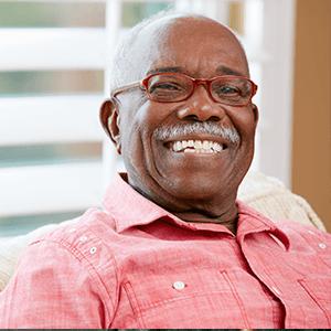 Elderly Man in Skilled Nursing Care