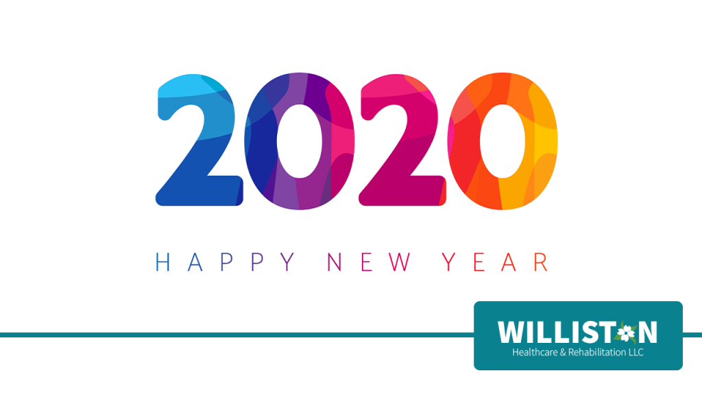 2020 Happy New Year at Williston Healthcare & Rehabilitation LLC