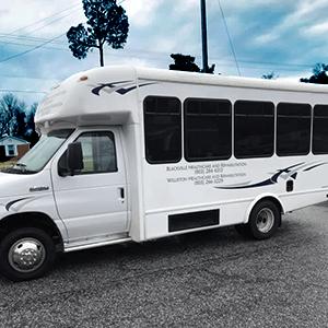 Seniors Activity Bus for Williston Healthcare & Rehabilitation LLC