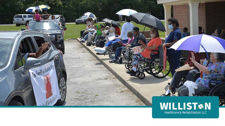 Friends and Family Parade at Williston Healthcare & Rehabilitation LLC