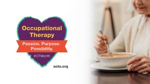 Occupational Therapy Month Logo