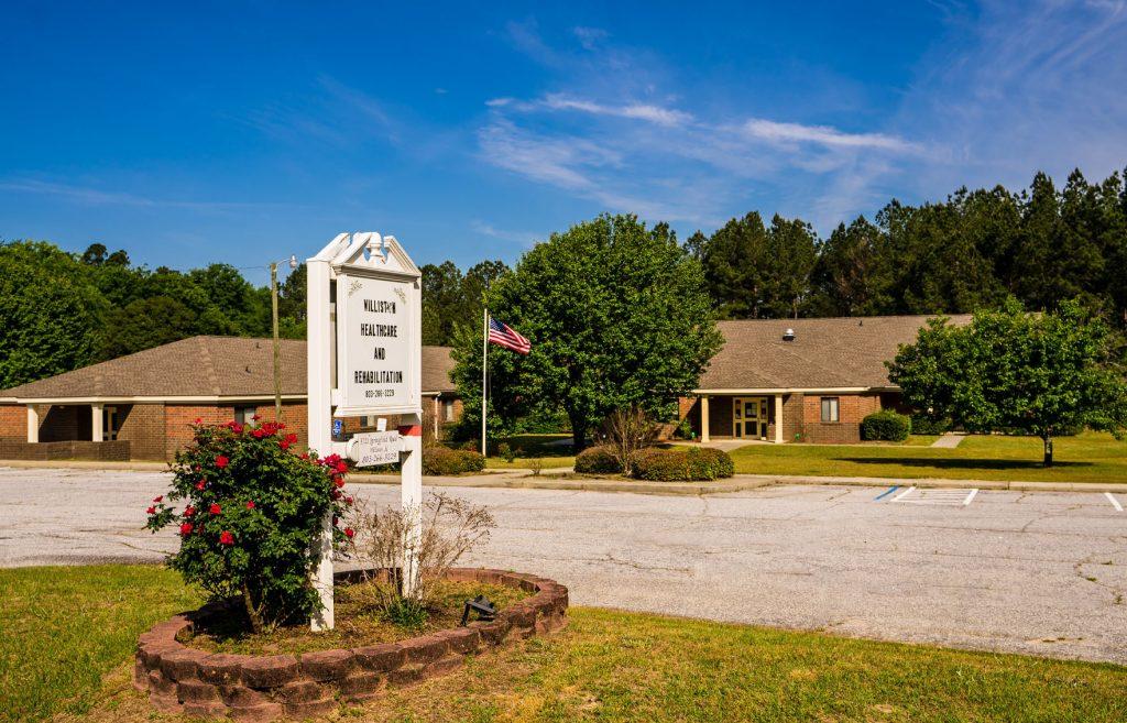 Front-Sign_Williston-Healthcare-Rehabilitation_South-Carolina