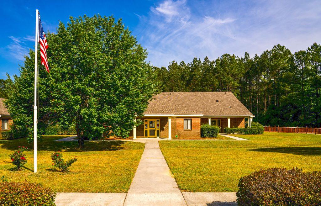 Front-of-Building_Williston-Healthcare-Rehabilitation_South-Carolina